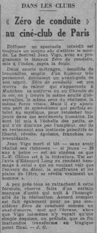 Paris-Soir du 8 novembre 1934