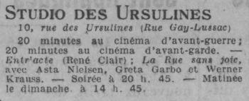 Comoedia du 25 janvier 1926