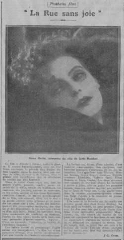 Comoedia du 30 octobre 1925