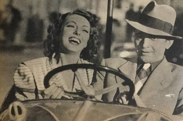 paru dans Cinémonde Noël 1946