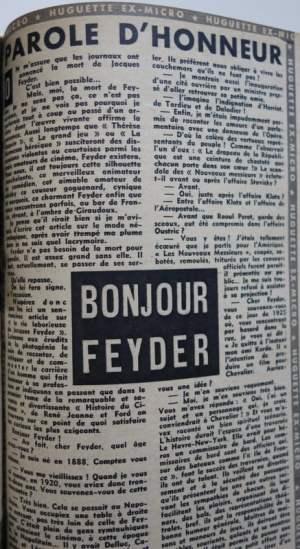 Cinémonde du 8 juin 1948