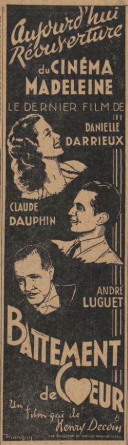 Paru dans Le Journal du 03 février 1940