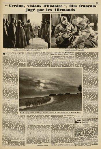 paru dans Pour Vous du 27 Décembre 1928