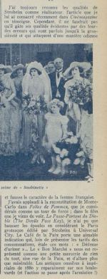 paru dans Cinémagazine du 25 janvier 1924