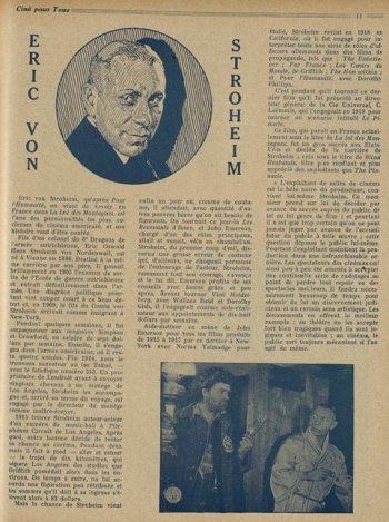 paru dans Ciné pour tous du 19 Mai 1922