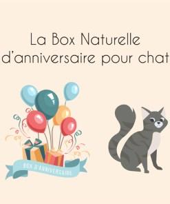 La Box Naturelle d'anniversaire pour chat