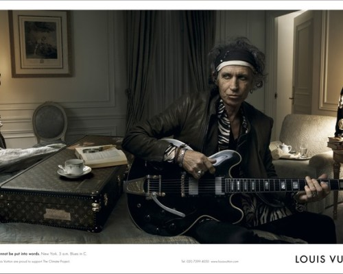 Keith Richards pour Louis Vuitton