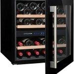 Cave à vin de service – 2 temp. – 36 bouteilles – Noir – AVINTAGE – ACI-AVI456E – Encastrable