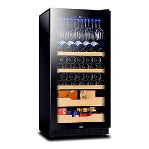 BEANFAN Multifonctionnel thermoélectriques Cave à vin, vin Réfrigérateur, Touch Control de la température, for intérieur Cave à vin