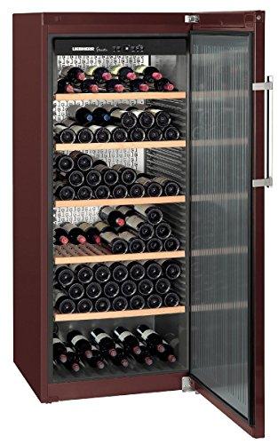 Liebherr WKT 4551 – refroidisseurs à vin (Autonome, Marron, 5 – 20 °C, Marron, SN-T, A+)