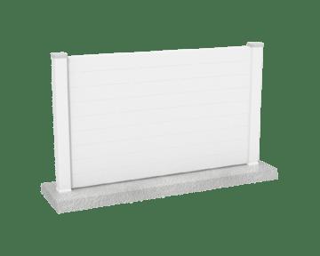 cloture pvc blanc pas chere cloture