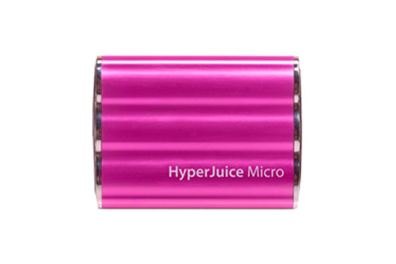 Batterie Hyperjuice Micro 3600 mAh Rose