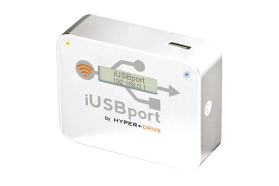 iUSBPort Blanc