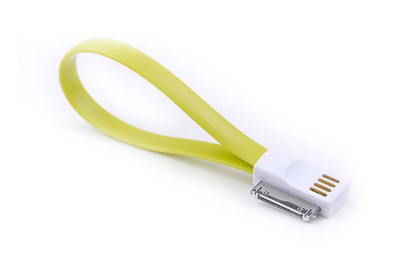 Chargeur USB Magnet Apple 30pin (Vert)