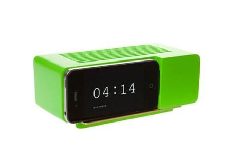 Support Alarm Dock pour iPhone 4/4S (Vert)