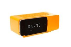 Support Alarm Dock pour iPhone 4/4S (Orange)