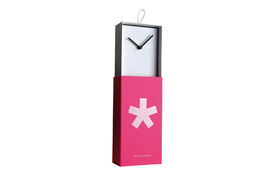 Horloge Asterisk (Rose)