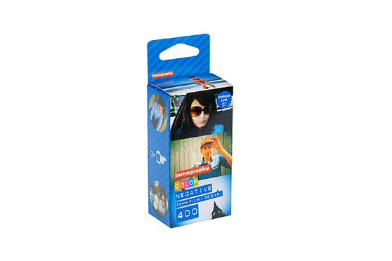 papier photo Négatif Lomography Color 400 ISO 35mm Couleur