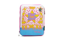 Housse iPad 2,3,4 -Keith Haring Collection - Pop Shop (Rose)