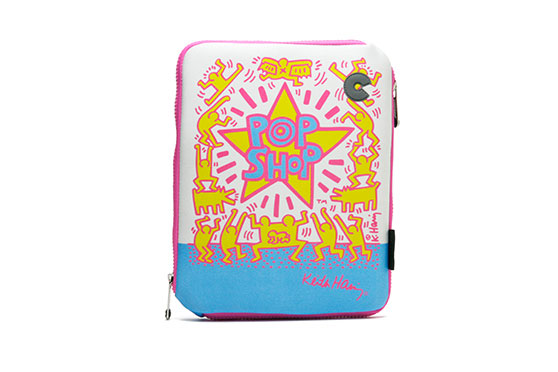 Housse iPad 2,3,4 -Keith Haring Collection – Pop Shop (Rose)