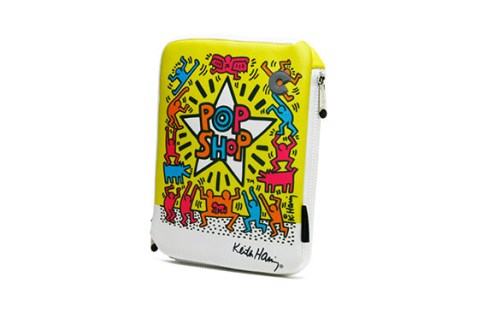 Housse iPad 2,3,4 Keith Haring Collection – Pop Shop (Jaune)