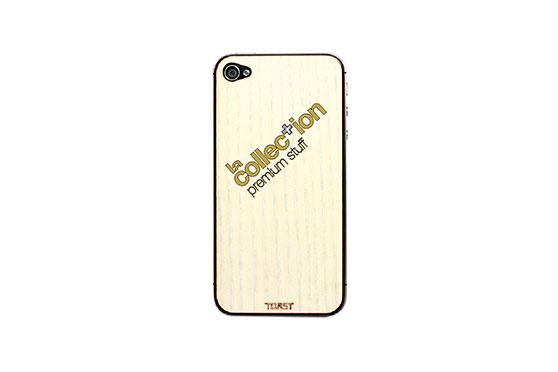 Sticker iPhone 4/4S en bois La Collection (Frêne)