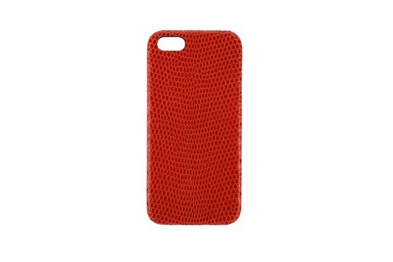 Coque iPhone 5/5s/SE Lézard (Rouge)