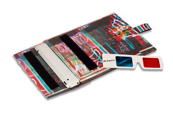 Housse Tablette Mighty en Tyvek 3D NYC