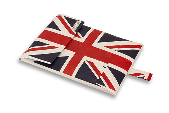 Housse Ordinateur Mighty en Tyvek Union jack