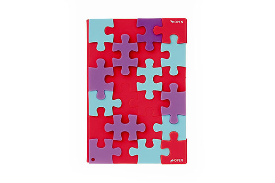 Cahier Puzzle (Orange) Mark's