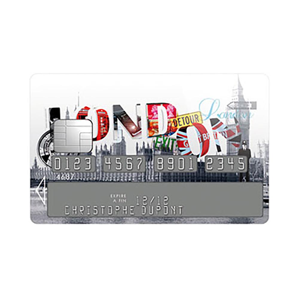 Sticker Carte Bleue London Street