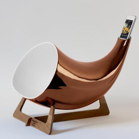 Megaphone pour iPhone En&IS (Cuivre)