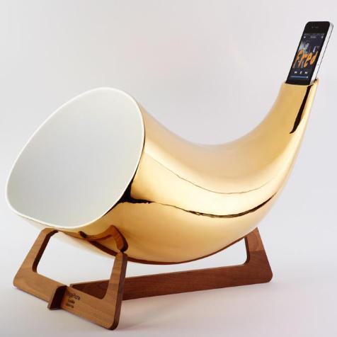Megaphone pour iPhone En&IS (Gold)