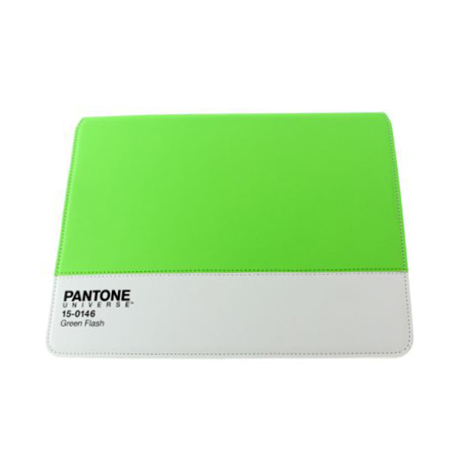 Housse iPad 2 Pantone Universe Neon Green (Vert Fluo)