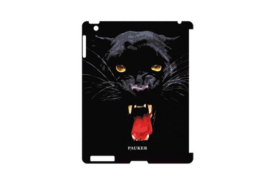 Coque Pauker Panthère Noir iPad 2/3/4