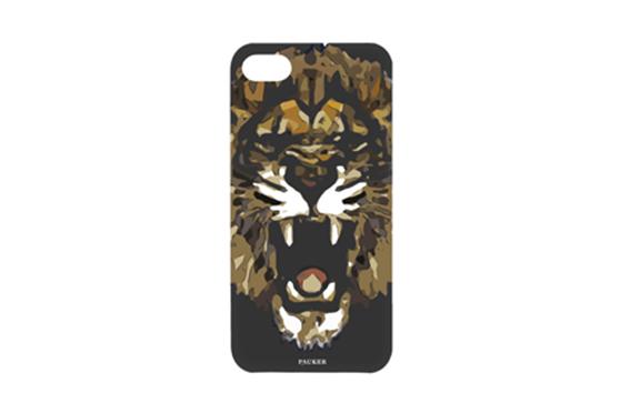 Coque Pauker Lion Noir pour iPhone 5