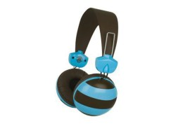 Casque Merkury rugby two tone rugby (NOIR ET BLEU)