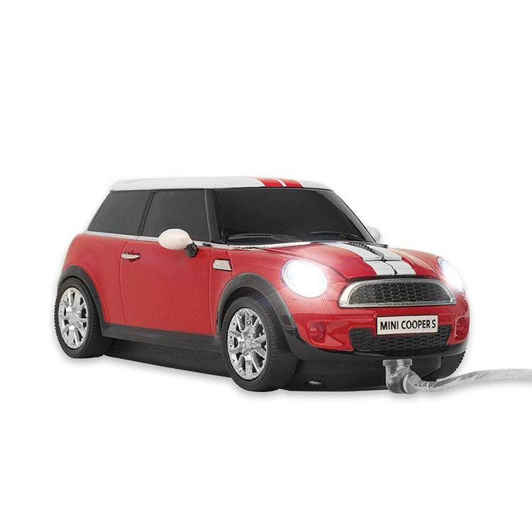 Souris Click Car Mini Cooper Rouge