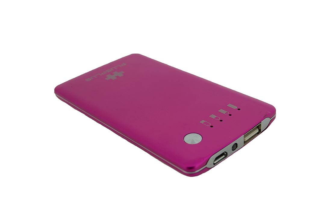 Batterie Externe Powervisa 3000 mah rose