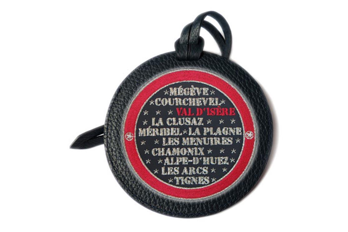 Etiquette bagage MONTAGNE VAL D'ISERE AMARENA (ARGT)