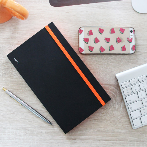 CAHIER PUNK (ORANGE)