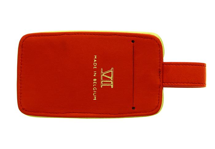 Étiquette bagage (rouge)