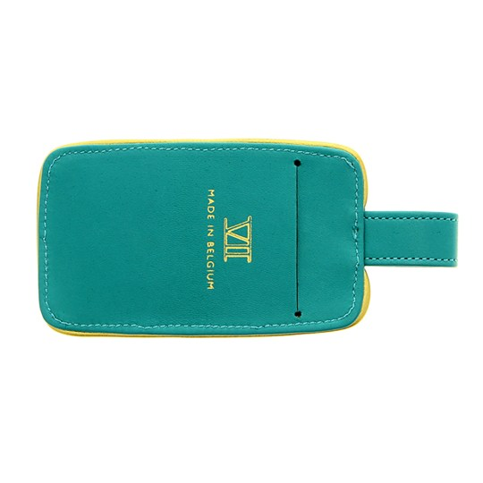 Étiquette bagage (turquoise)