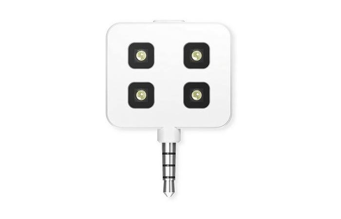 Flash Led iBlazr pour smartphone et tablette  (Blanc)