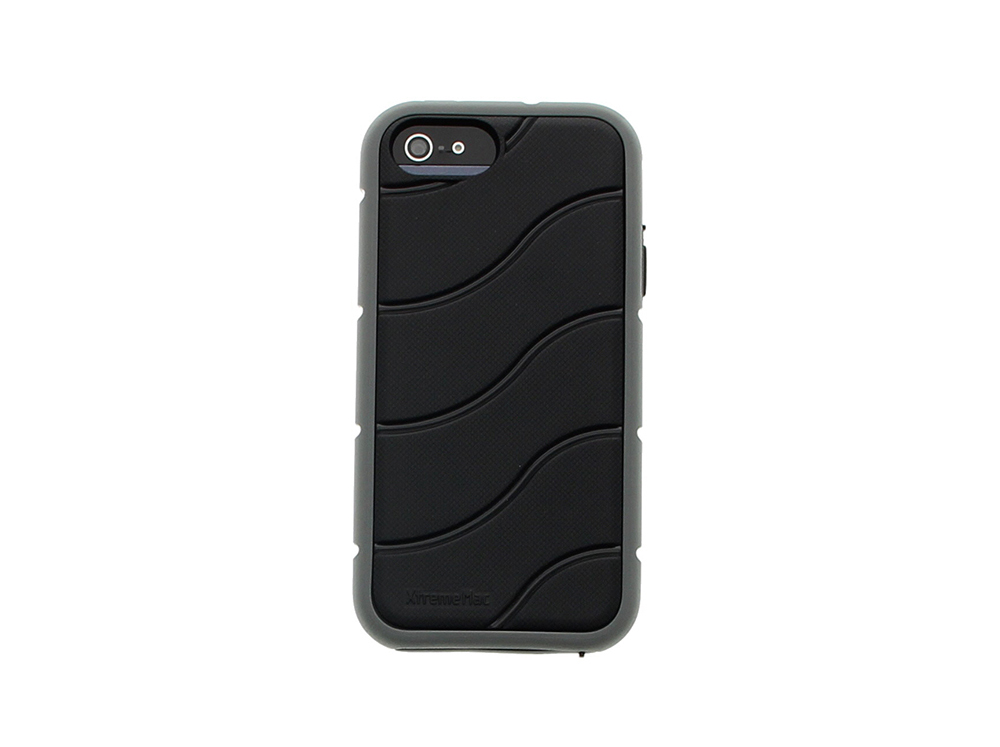 Coque Shockwave XtremeMac pour iPhone Noir