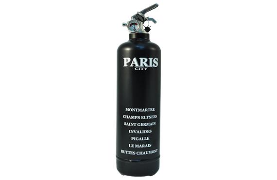 Extincteur Fire Design Quartiers VIP Paris (noir)