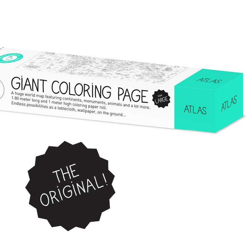 Coloriage Géant Atlas OMY