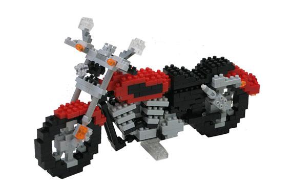 Nanoblock Motorcycle