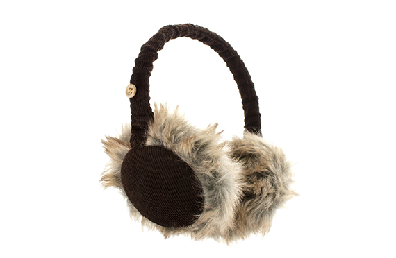 Casque Audio Cache-Oreilles Velours KitSound (Marron)