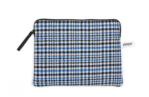 Housse Zippée iPad Air Pijama (Pied de Poule Bleu)
